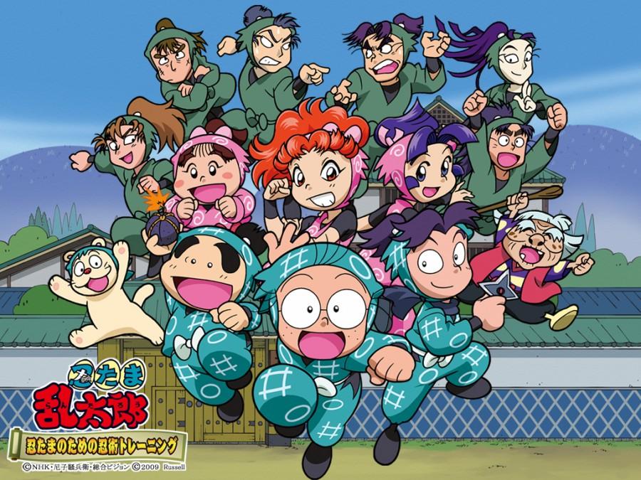 Characters_of_Rantaro_el_ninja_boy