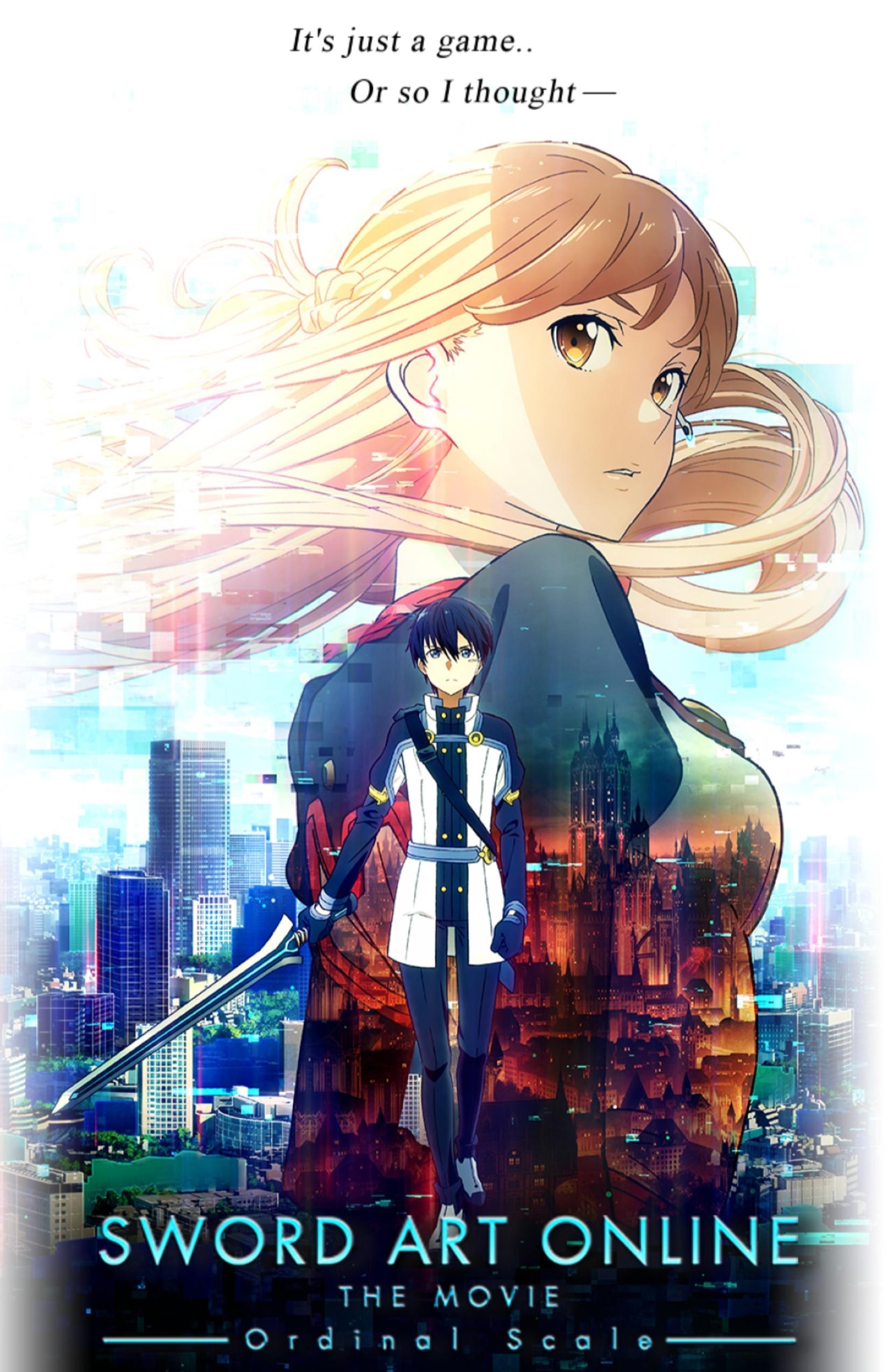 Sword Art Online The Movie: Ordinal Scale Kinox.To